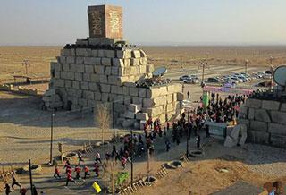 焉耆县举办冬季旅游马拉松赛