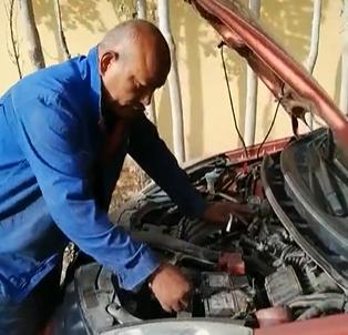 车坏了,我也会修