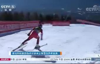 奥地利和美国选手分享高山滑雪世界杯金牌