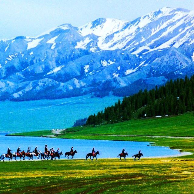 新疆博州赛里木湖