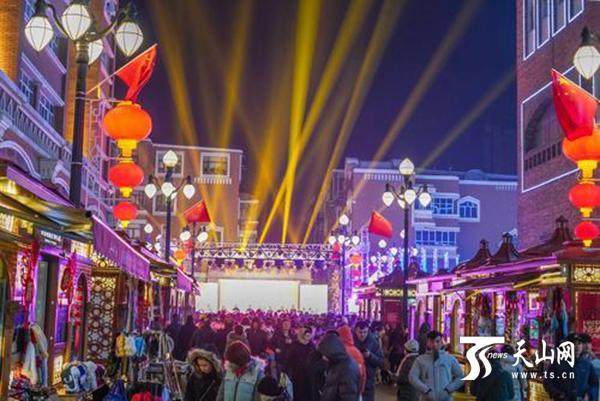越夜越美丽 乌鲁木齐市夜间经济