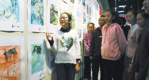 乌鲁木齐市文化馆举行少儿美术作品展