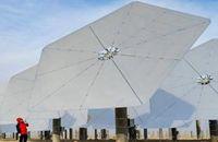 万博manbetx官网地址首个光热电站并入电网发电运行