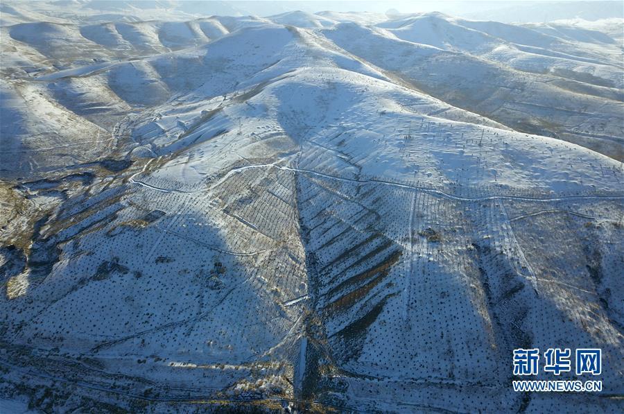 (美丽中国)(7)祁连山下冬景如画