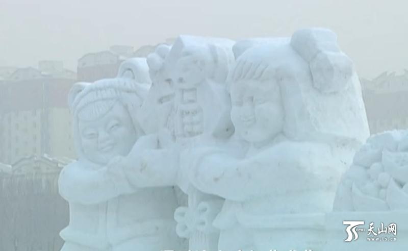 赏冰灯、观雪雕,昌吉市冰灯艺术节1月20日开幕