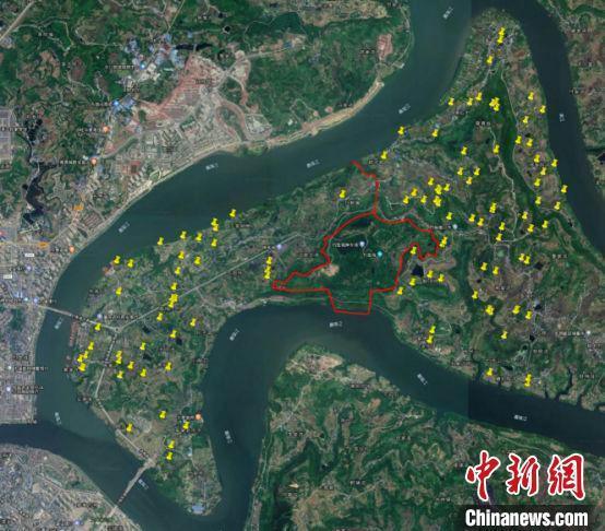 重庆合川钓鱼城半岛新发现汉至明清时期遗址115处