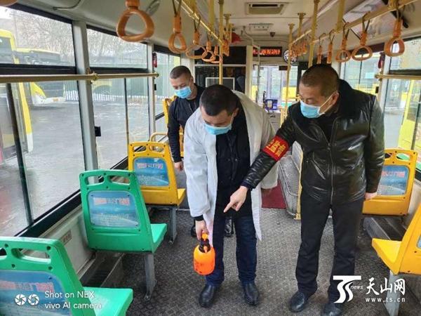 烏魯木齊市公交、BRT多措并舉應對新型冠狀病毒感染的肺炎疫情
