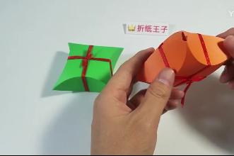 教你折纸卡纸礼盒