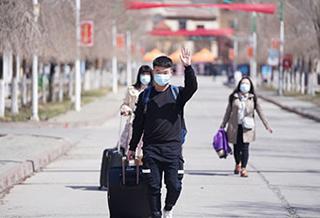新疆高校开学第一天