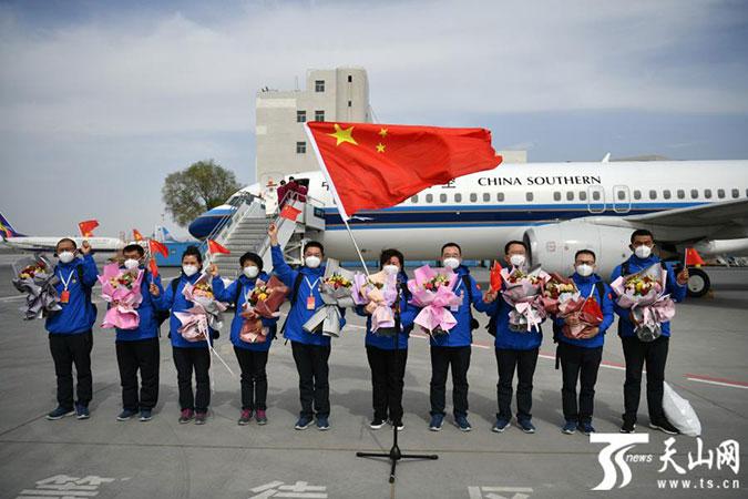中国赴吉尔吉斯斯坦联合工作组圆满完成任务回国