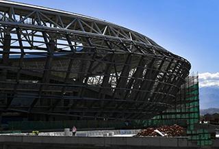 乌鲁木齐奥体中心建设有序进行