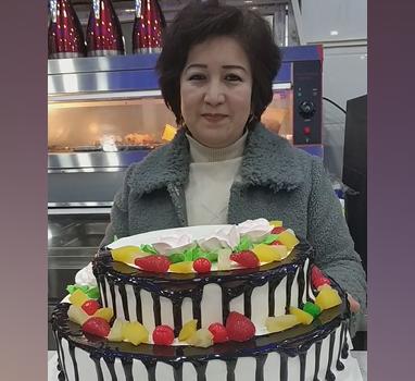 看看这个蛋糕做得怎么样