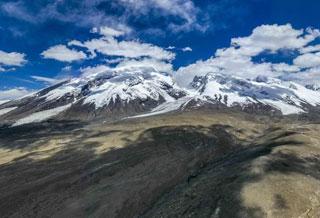 迷人的慕士塔格峰