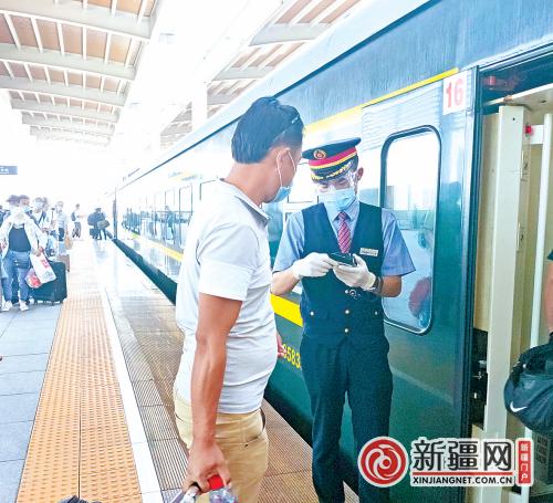 新疆铁路客运车站、列车全部实行电子客票 购票、进站、乘车注意这些变化