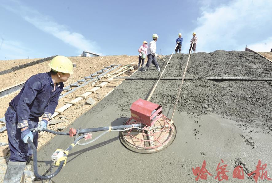 京新高速公路加紧建设图1