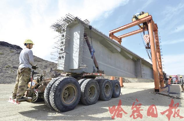 京新高速公路加紧建设图2