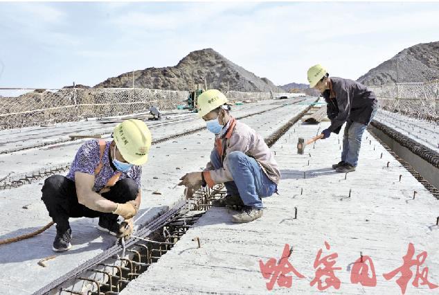 京新高速公路加紧建设图3