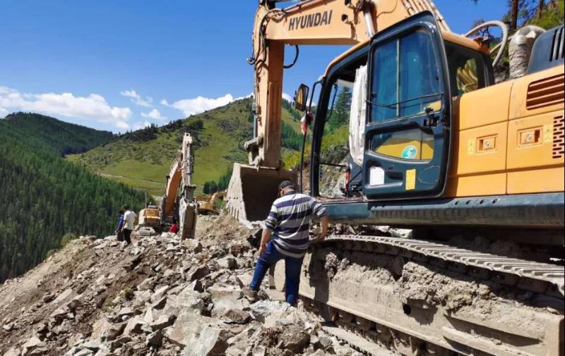 阿勒泰地区各建设项目稳步推进