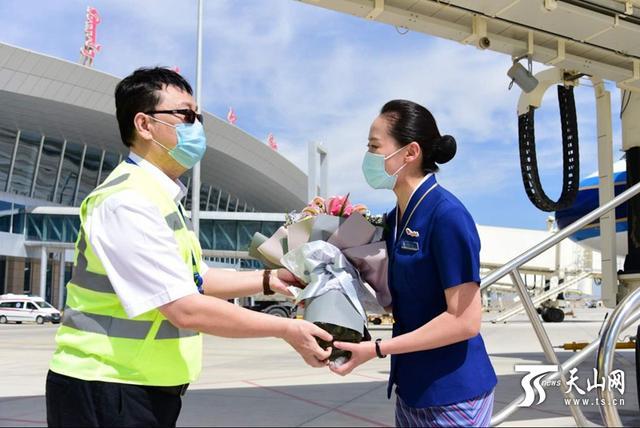 库尔勒机场开通新疆支线机场首条北京大兴航线
