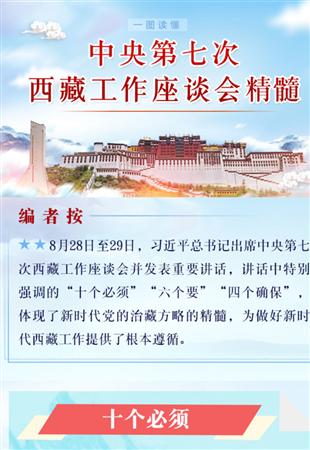 一图读懂中央第七次西藏工作座谈会精髓