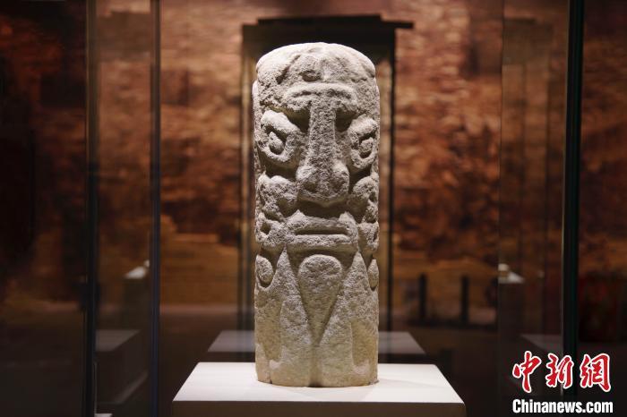 石峁遗址出土的器物。山西博物院提供