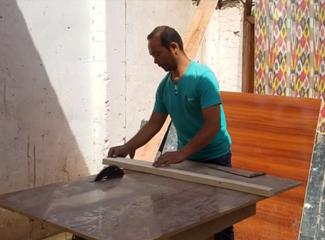 【明天更美好】结业学员毕业后学会了做家具,看看他的手艺怎么样