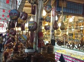 中西亚国际大巴扎手工艺品一条街