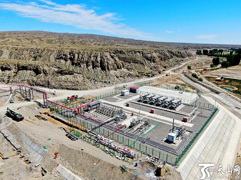 塔里木油田:大北集输系统完善工程施工正酣