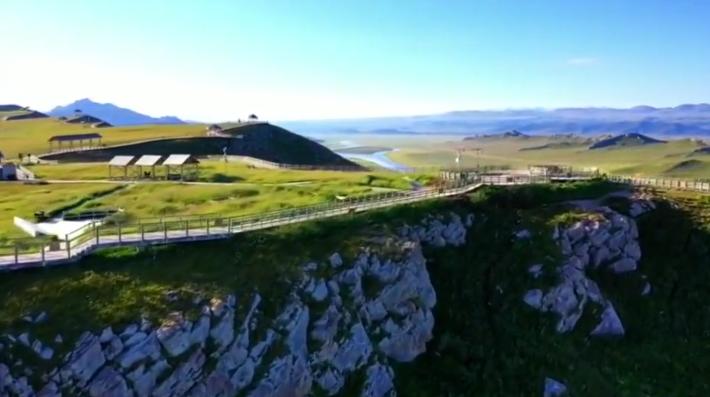 这里是新疆 带你领略巴音布鲁克风景