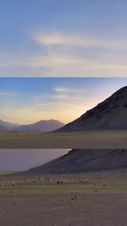 这里是新疆   初秋的巴音布鲁克草原