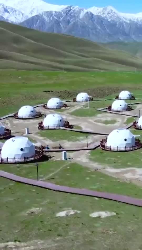 这里是新疆   星空营地