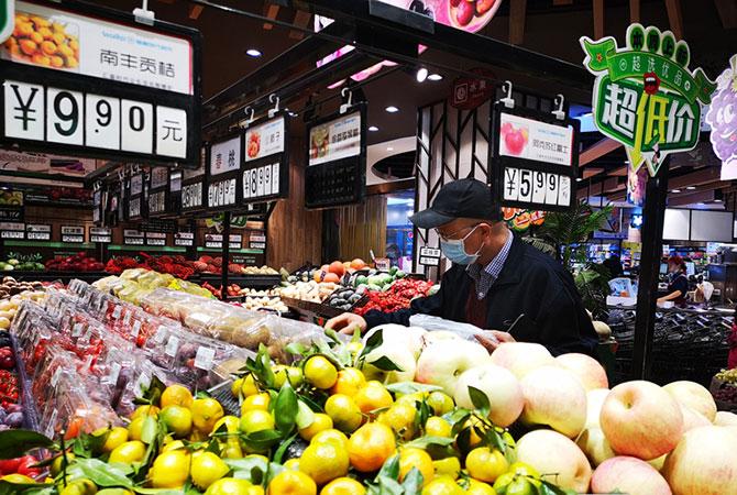 新疆消费品市场整体平稳